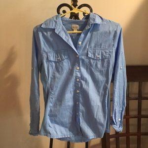 Blue Buttoned Converse Shirt